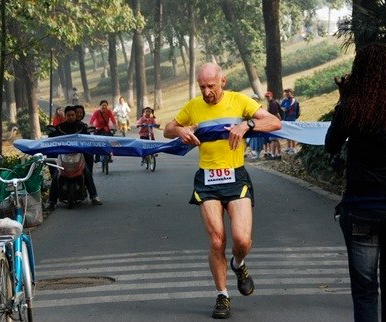 Nanjing Triathlon, Relay win, ~2009